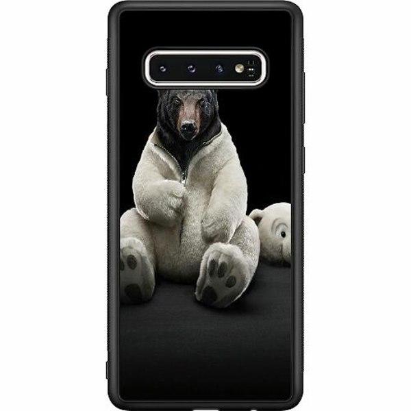 Samsung Galaxy S10 Soft Case (Svart) WTF