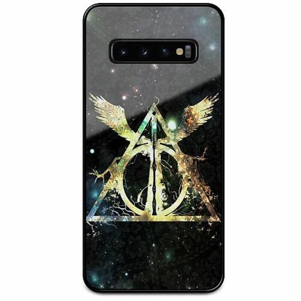 Samsung Galaxy S10 Svart Mobilskal med Glas Harry Potter
