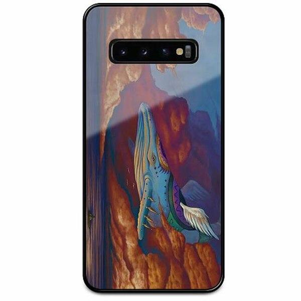Samsung Galaxy S10 Svart Mobilskal med Glas Zelda