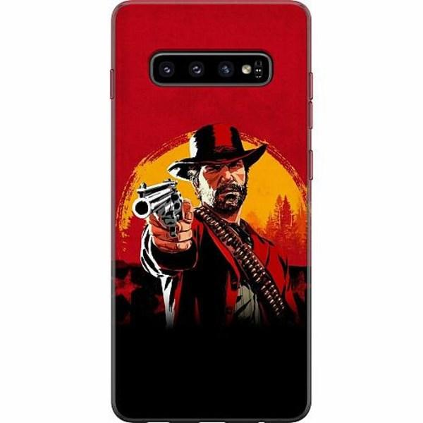 Samsung Galaxy S10 Plus Mjukt skal - Red Dead Redemption 2