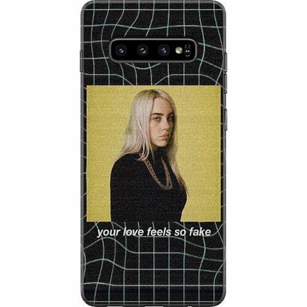 Samsung Galaxy S10 Plus Mjukt skal - Billie Eilish 2021