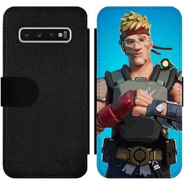 Samsung Galaxy S10 Wallet Slim Case Fortnite 2021