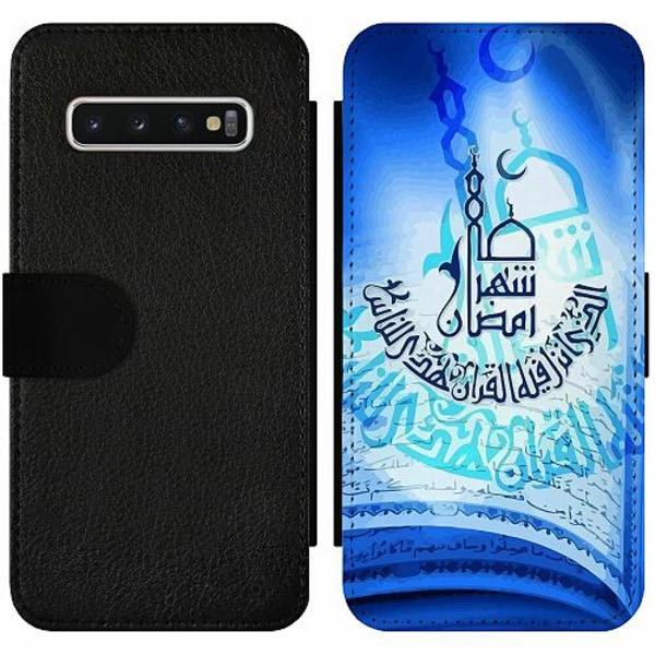 Samsung Galaxy S10 Wallet Slim Case Ramadan Mubarak