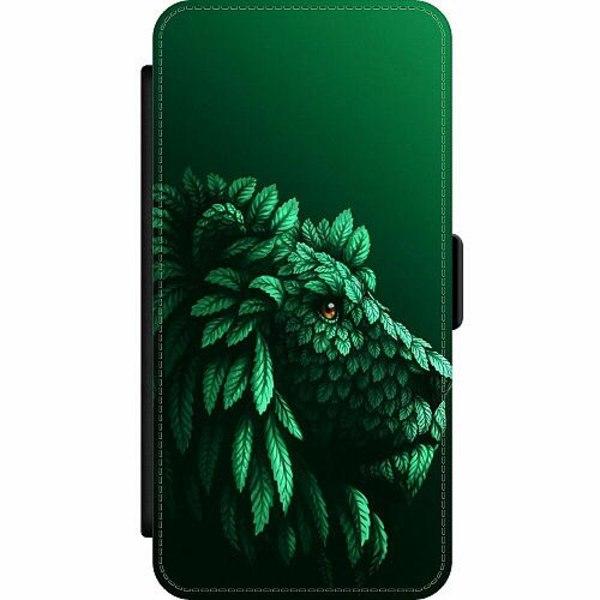 Samsung Galaxy S9+ Wallet Slim Case Vegan Lion