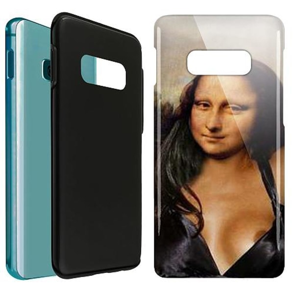 Samsung Galaxy S10e LUX Duo Case (Glansig)  Nudie Lisa