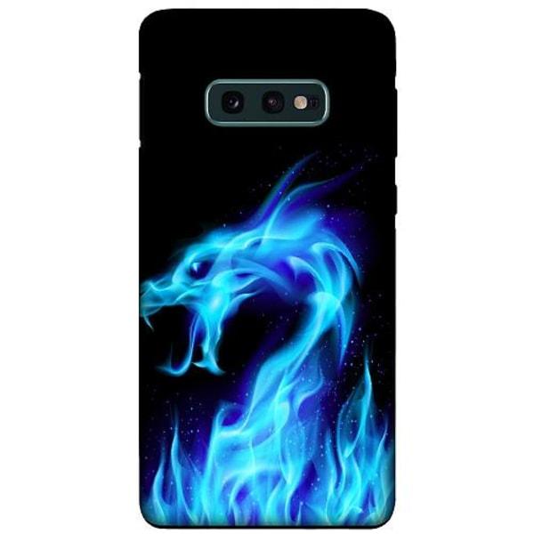 Samsung Galaxy S10e LUX Duo Case (Matt) Fire Dragon Blue