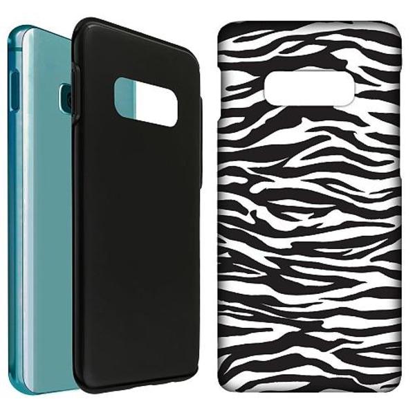 Samsung Galaxy S10e LUX Duo Case (Matt) Zebra Mönster