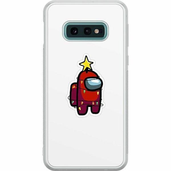 Samsung Galaxy S10e Soft Case (Frostad) Among Us