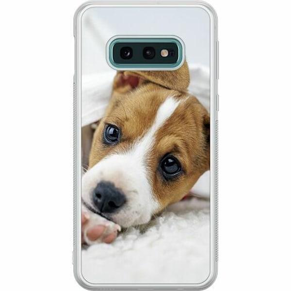 Samsung Galaxy S10e Soft Case (Frostad) Cute Puppy