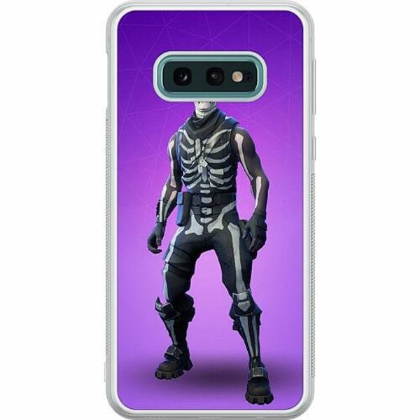 Samsung Galaxy S10e Soft Case (Frostad) Fortnite Skull Trooper