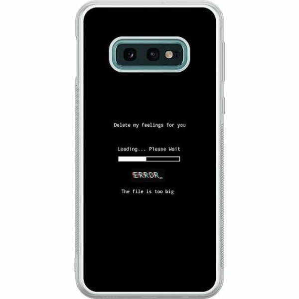 Samsung Galaxy S10e Soft Case (Frostad) Loading