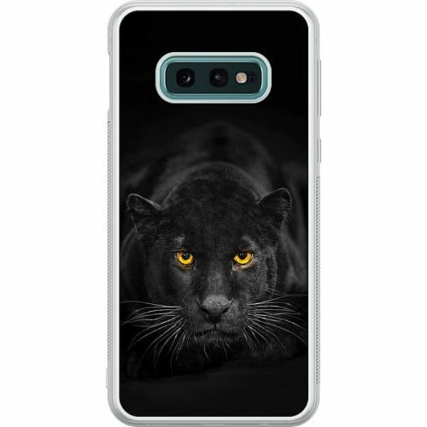 Samsung Galaxy S10e Soft Case (Frostad) Panther