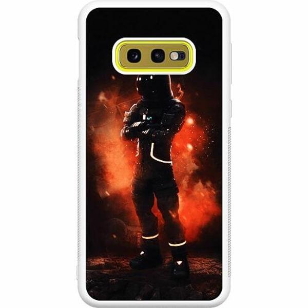 Samsung Galaxy S10e Soft Case (Vit) Fortnite