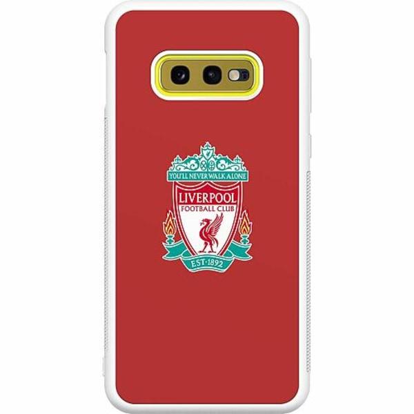 Samsung Galaxy S10e Soft Case (Vit) Liverpool L.F.C.