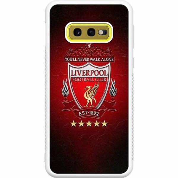 Samsung Galaxy S10e Soft Case (Vit) YNWA Liverpool