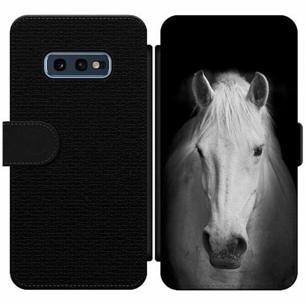Samsung Galaxy S10e Wallet Slim Case Häst