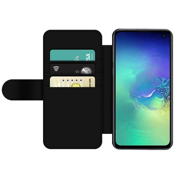Samsung Galaxy S10e Wallet Slim Case Leave Me