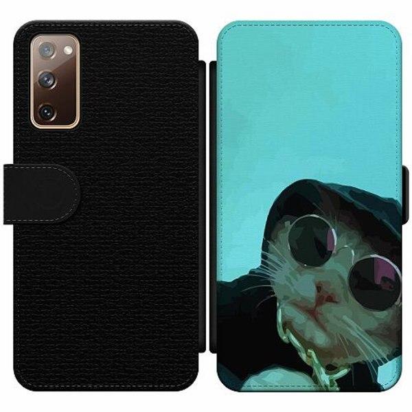 Samsung Galaxy S20 FE Wallet Slim Case Sup Cat