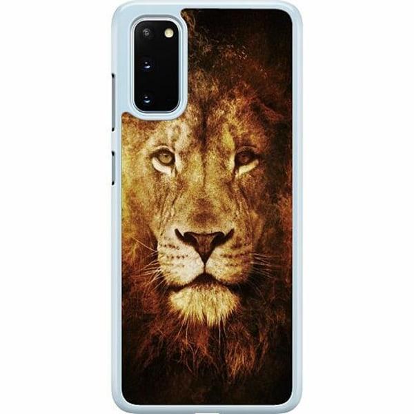 Samsung Galaxy S20 Hard Case (Transparent) Lion