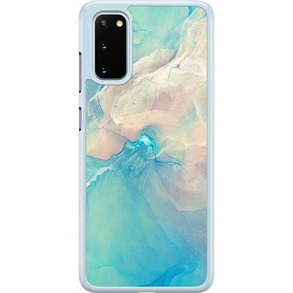 Samsung Galaxy S20 Hard Case (Transparent) Precipitate Tempus