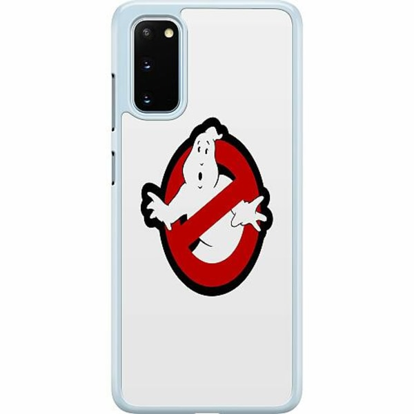 Samsung Galaxy S20 Hard Case (Transparent) Stop. Ghost.
