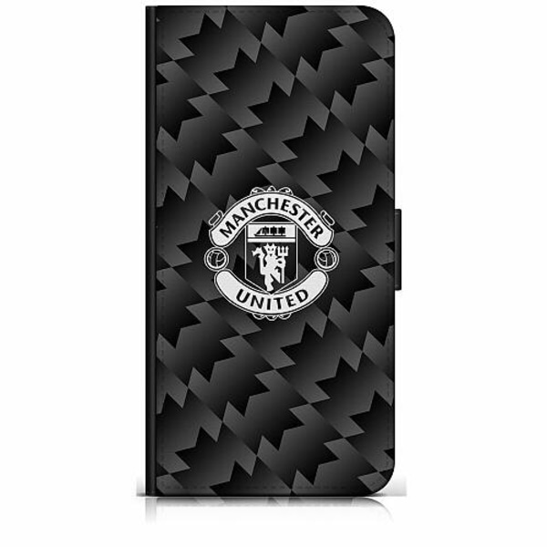 Apple iPhone 8 Plus Plånboksfodral Manchester United FC