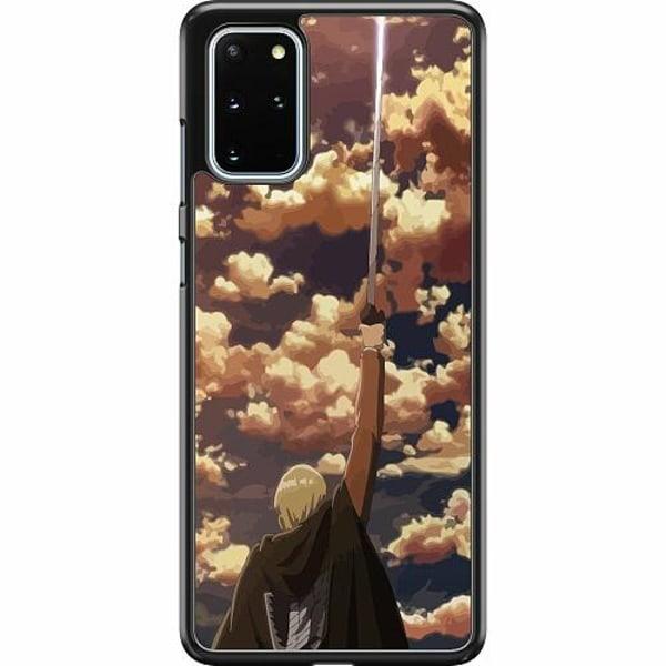 Samsung Galaxy S20 Plus Hard Case (Svart) Attack On Titan