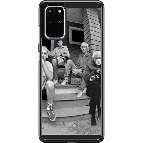 Samsung Galaxy S20 Plus Hard Case (Svart) Bernie Sanders Meme