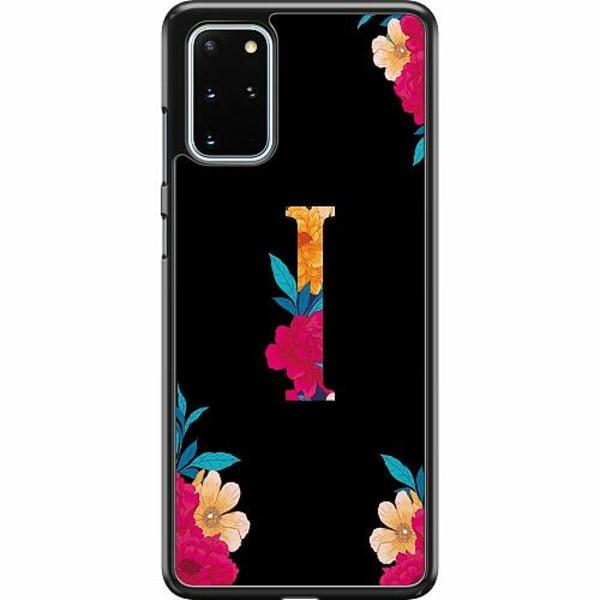 Samsung Galaxy S20 Plus Hard Case (svart) Bokstaven - I