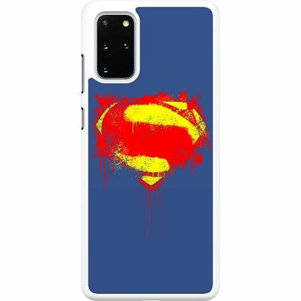 Samsung Galaxy S20 Plus Hard Case (Vit) Superman Splat