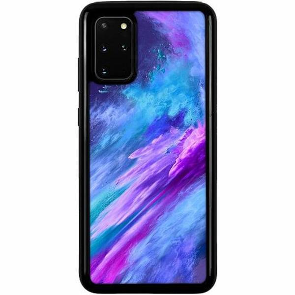 Samsung Galaxy S20 Plus Heavy Duty 2IN1 Crashing Purples