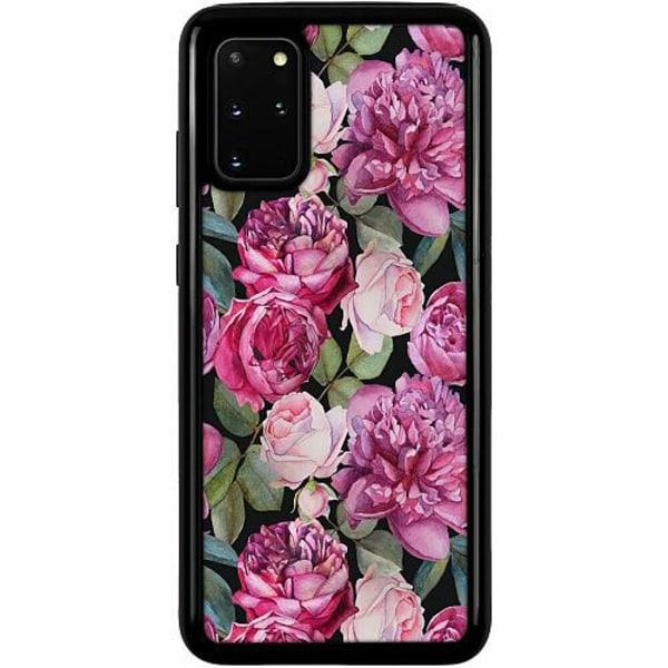 Samsung Galaxy S20 Plus Heavy Duty 2IN1 Purple Florals