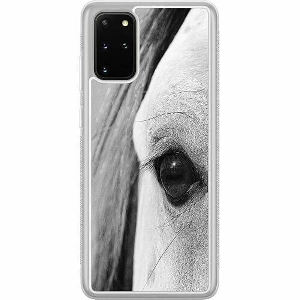 Samsung Galaxy S20 Plus Soft Case (Frostad) Häst / Horse