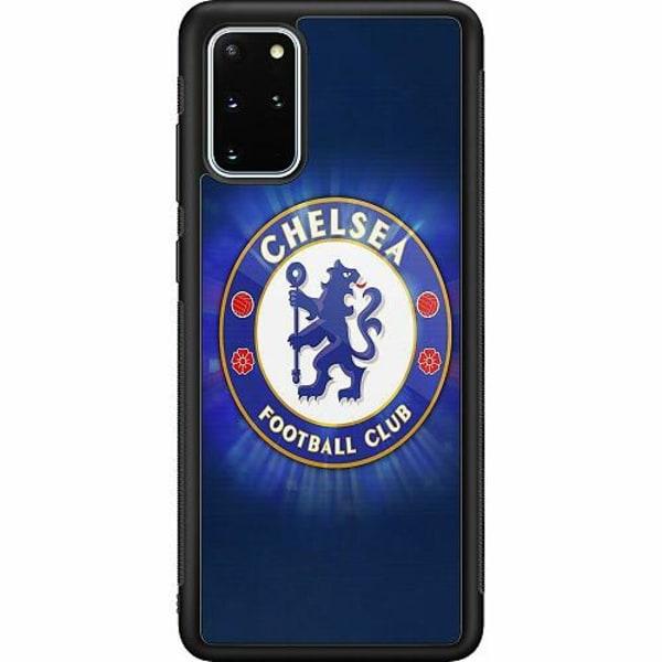Samsung Galaxy S20 Plus Soft Case (Svart) Chelsea Football