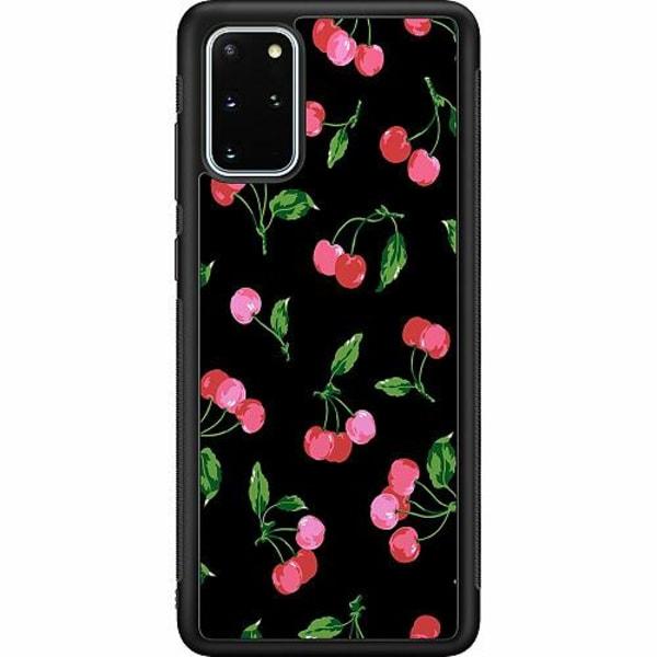 Samsung Galaxy S20 Plus Soft Case (Svart) Cherry