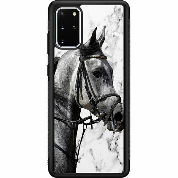 Samsung Galaxy S20 Plus Soft Case (Svart) Häst