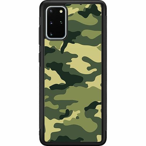Samsung Galaxy S20 Plus Soft Case (Svart) Military