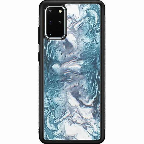 Samsung Galaxy S20 Plus Soft Case (Svart) Mönster