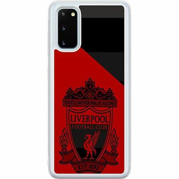 Samsung Galaxy S20 Soft Case (Frostad) Liverpool L.F.C.