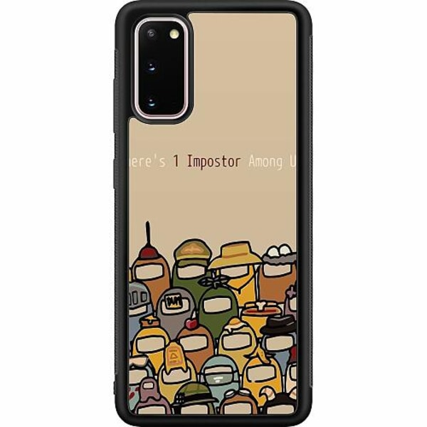 Samsung Galaxy S20 Soft Case (Svart) Among Us