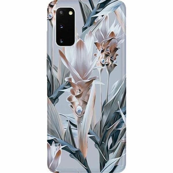 Samsung Galaxy S20 Thin Case Blommor