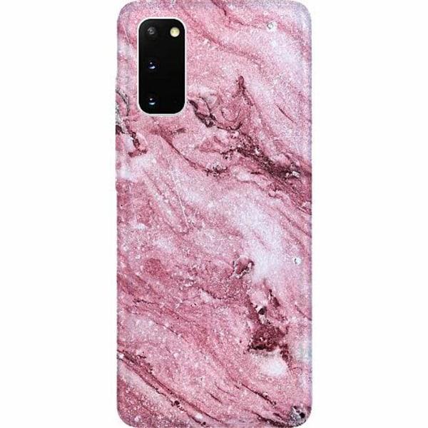 Samsung Galaxy S20 Thin Case Glitter Marble