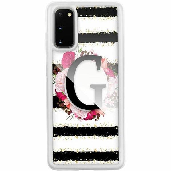 Samsung Galaxy S20 Transparent Mobilskal med Glas G