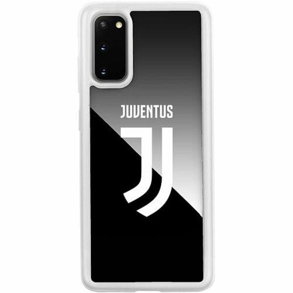 Samsung Galaxy S20 Transparent Mobilskal med Glas Juventus