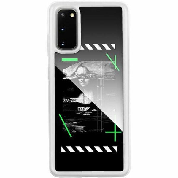 Samsung Galaxy S20 Transparent Mobilskal med Glas Mona L