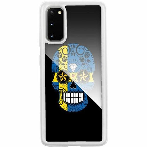 Samsung Galaxy S20 Transparent Mobilskal med Glas Sverige