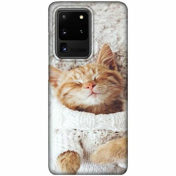 Samsung Galaxy S20 Ultra LUX Mobilskal (Matt) Kitty Sweater