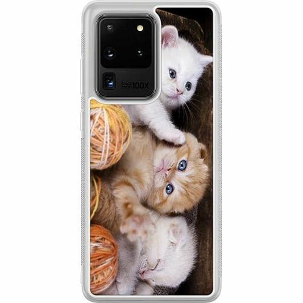 Samsung Galaxy S20 Ultra Soft Case (Frostad) Katter