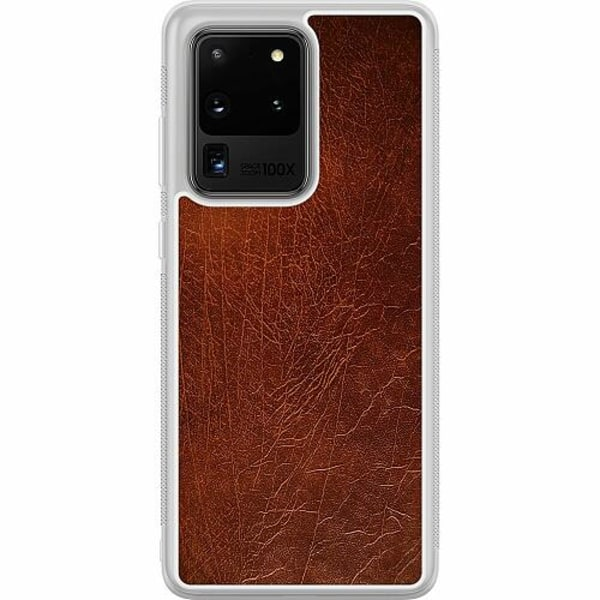 Samsung Galaxy S20 Ultra Soft Case (Frostad) Leather
