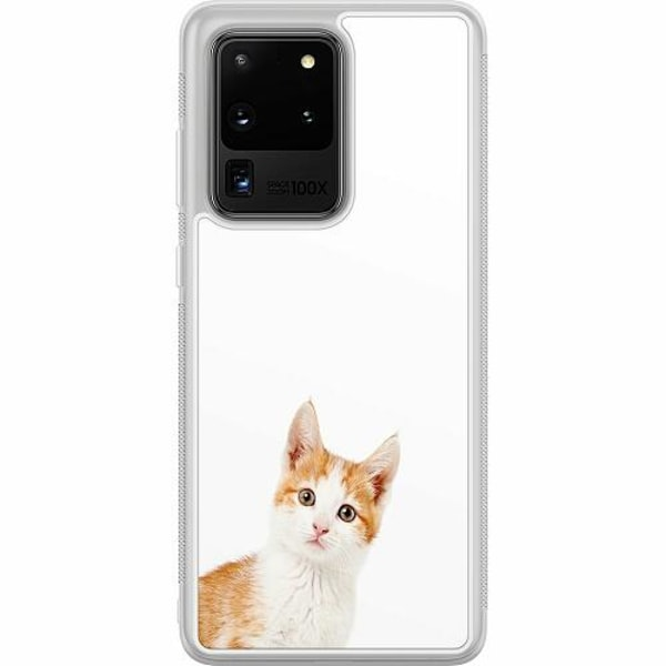 Samsung Galaxy S20 Ultra Soft Case (Frostad) PopUp Cat